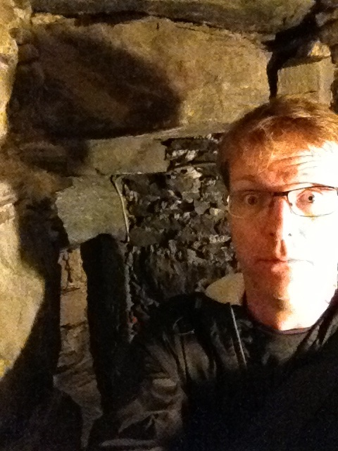 Nearly trapped in the dungeon.