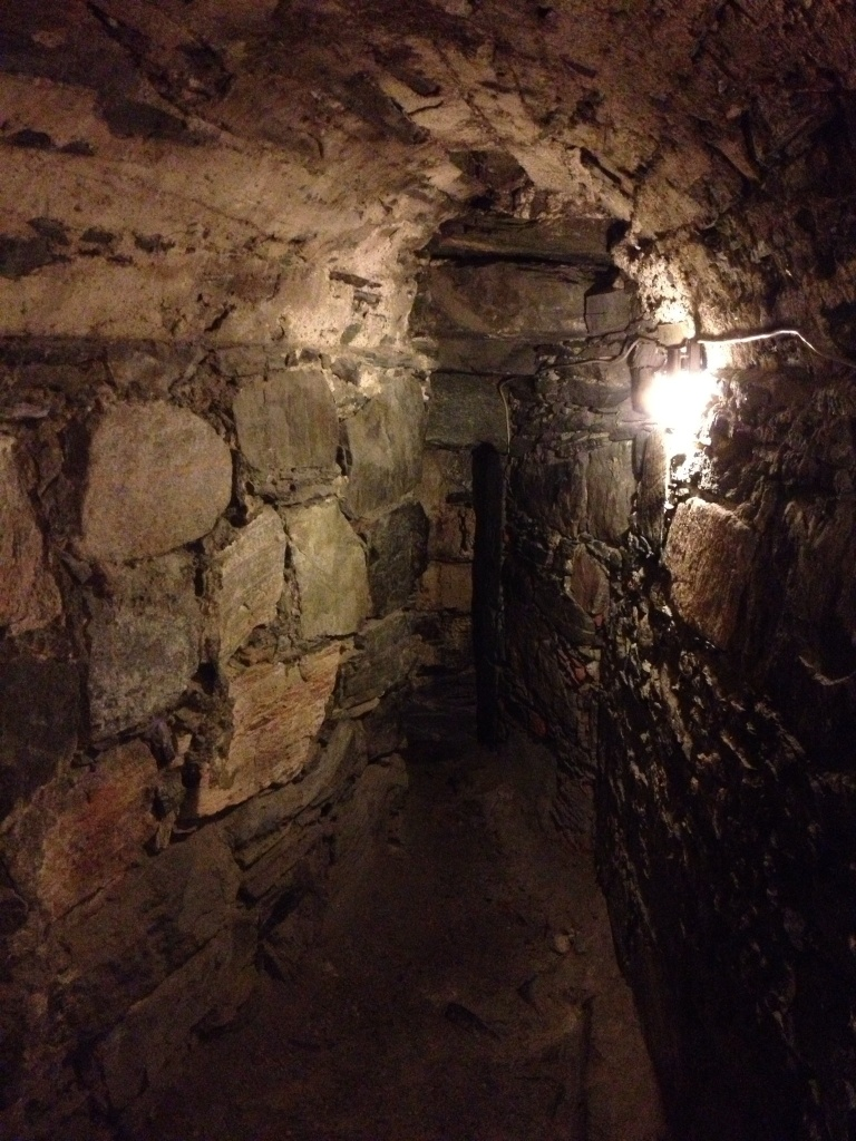 How about this crevice in the basement?