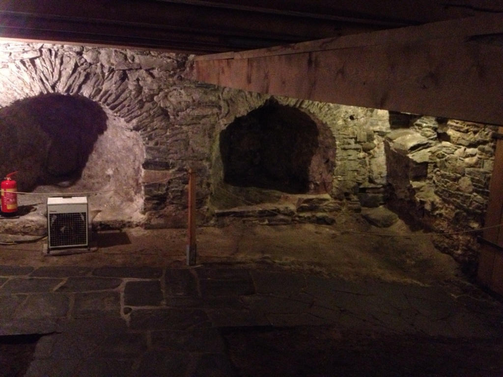 What's scarier than a basement of an old tower?