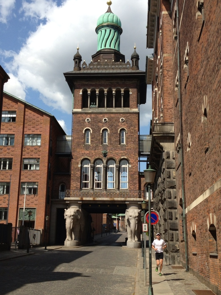 The Elephant Gates in Carlsberg.