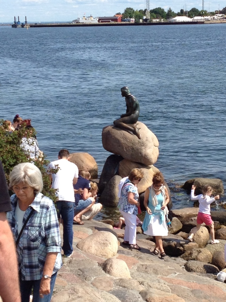 The Little Mermaid, she was in China last time I was in CPH.