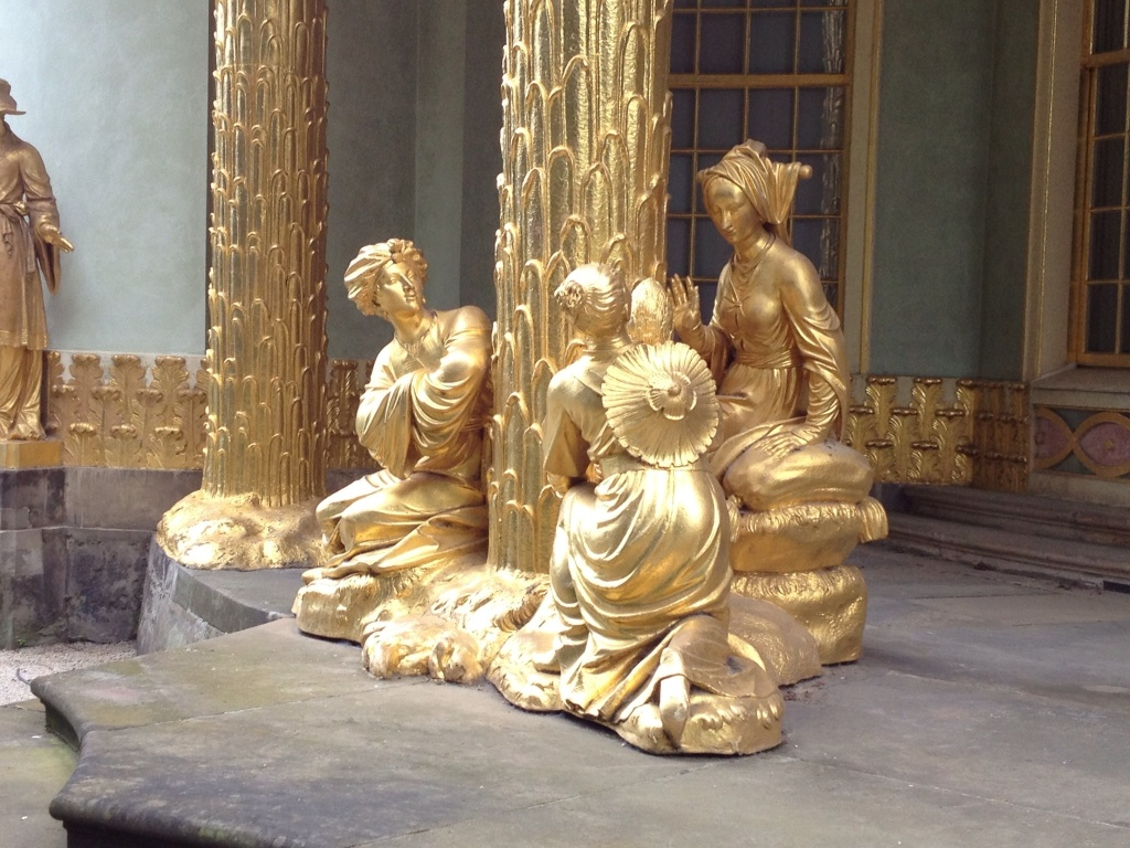 That's a lot of gold leaf.