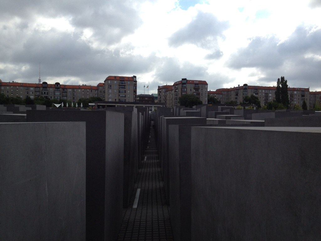 Jewish Holocaust Memorial in Berlin.