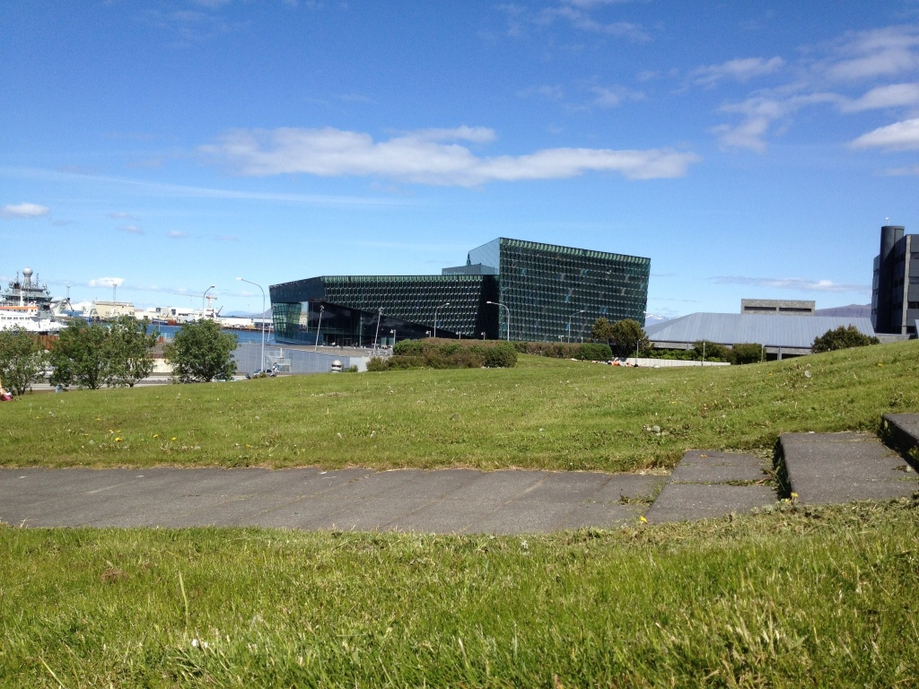 Iceland's Harpa Conference Center.