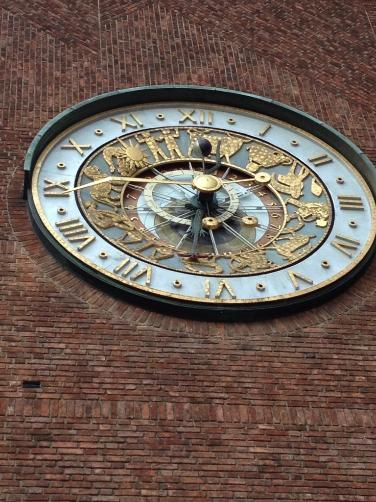 Astrological clock in a building from 1920?