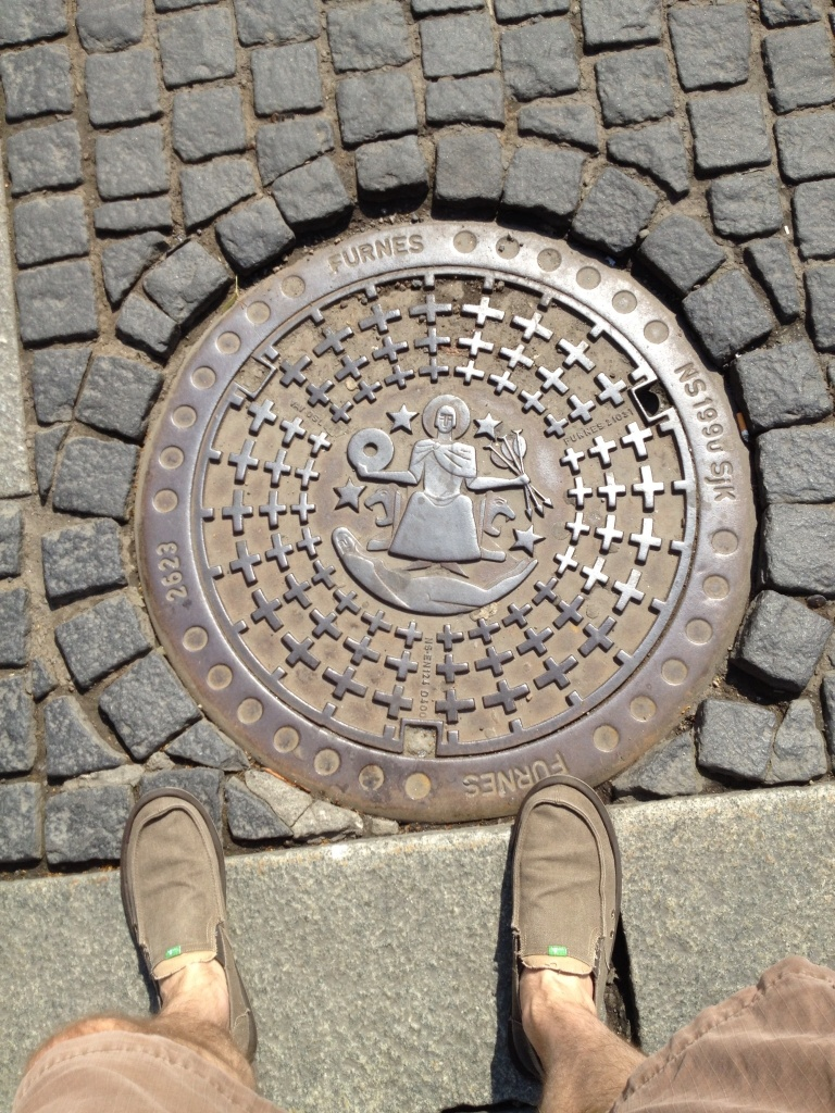 I am fascinated with city manhole covers. They really are unique, you just have to look.