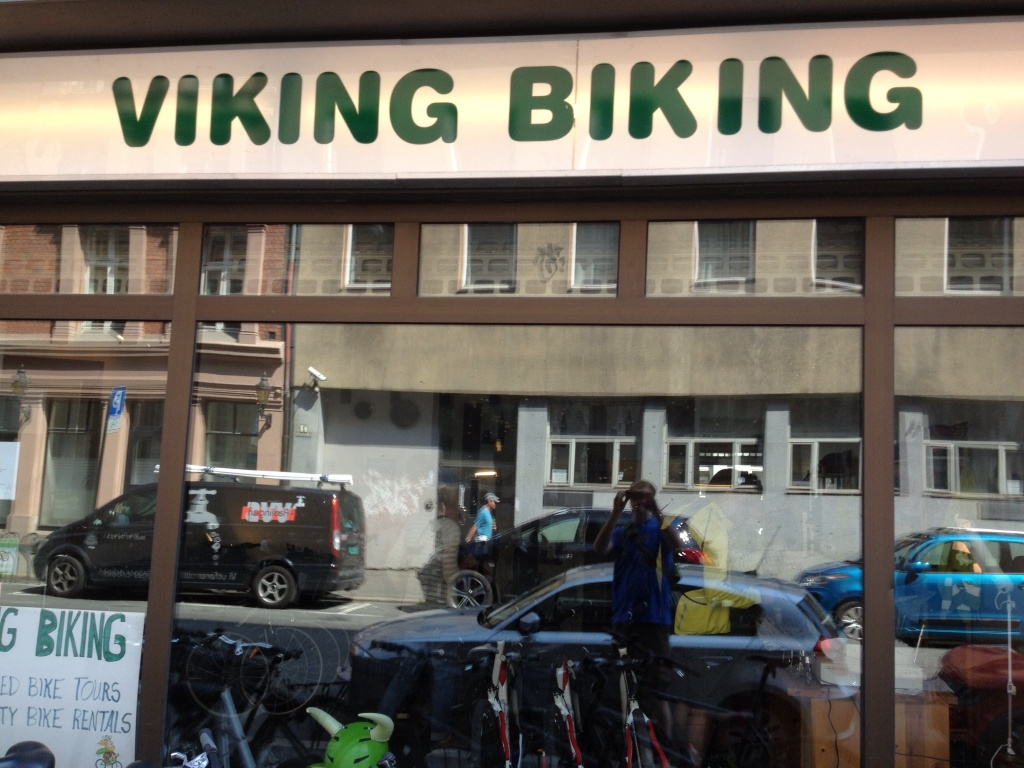 Viking Biking, English speaking tours of Oslo.