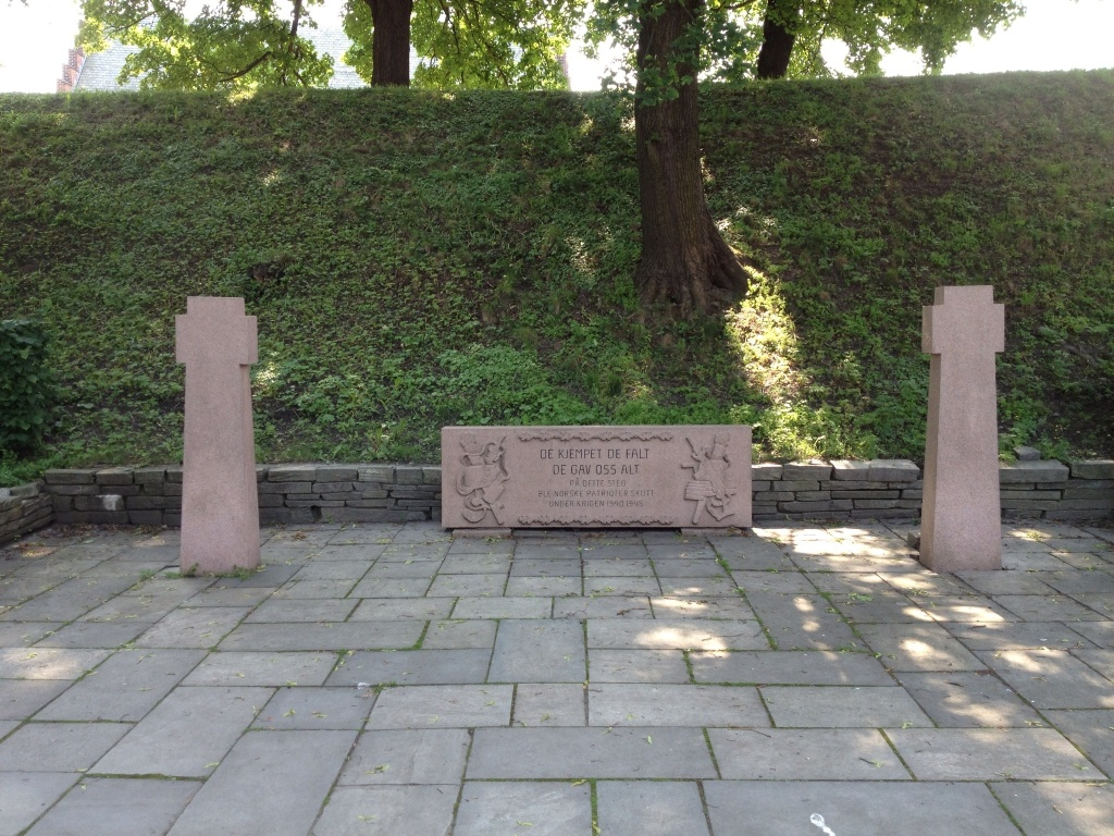 A memorial  for the executions by the Nazis. I think, it isn't in English.