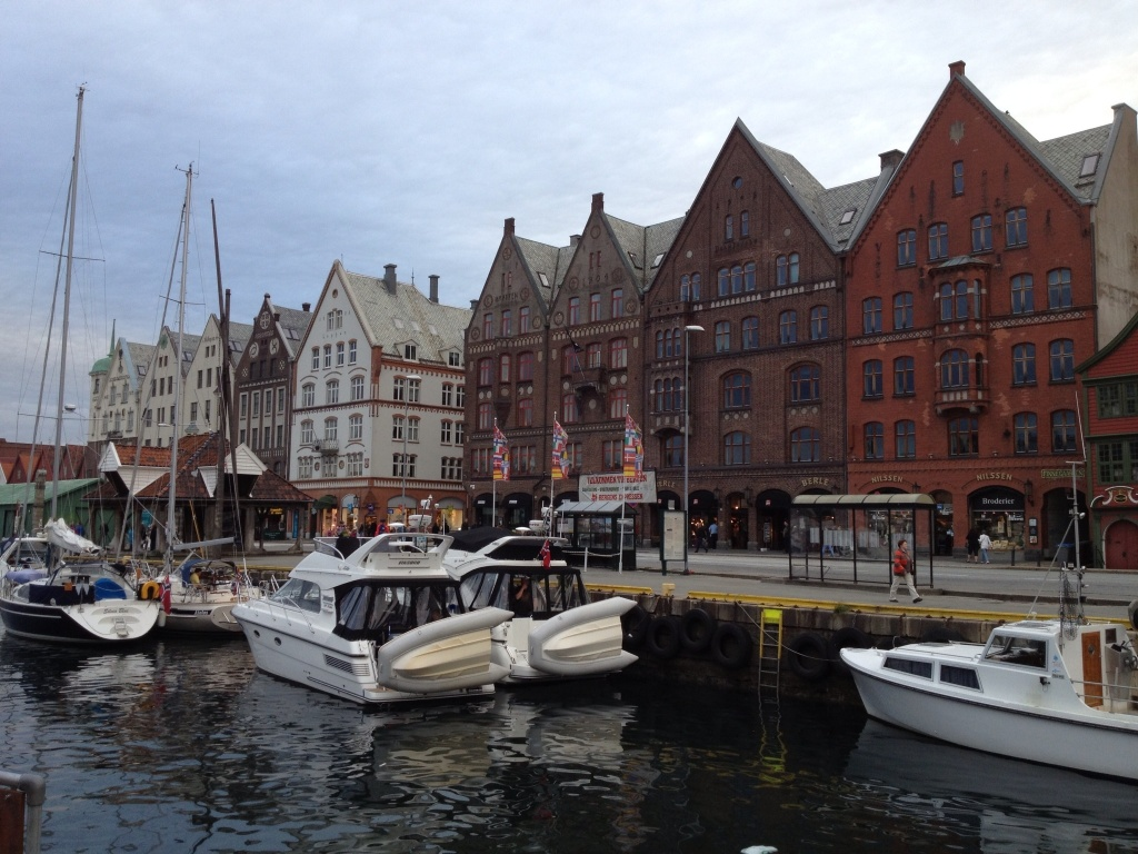 Bergen's waterfront.