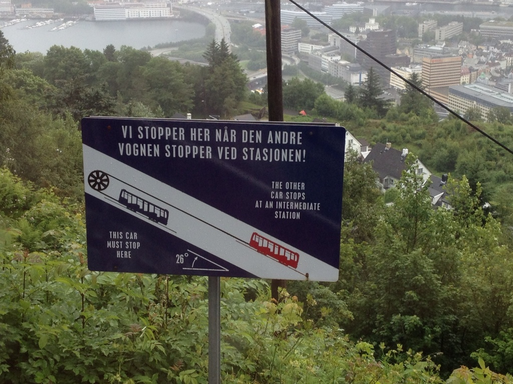 Funicular signs are fun.