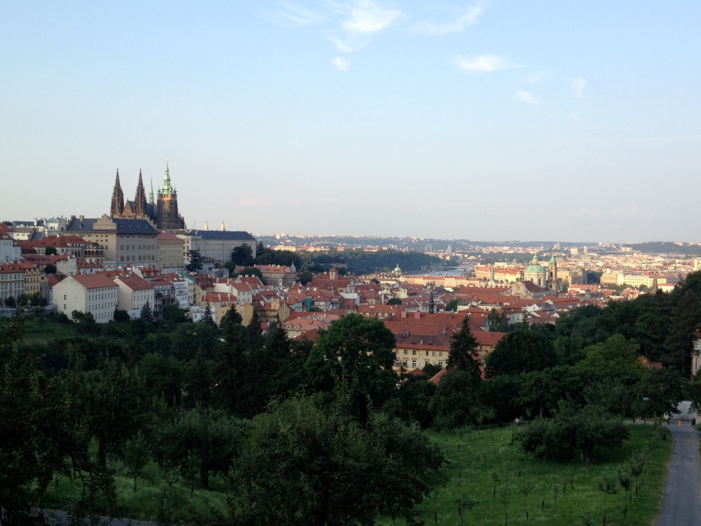 Prague looking good from here.