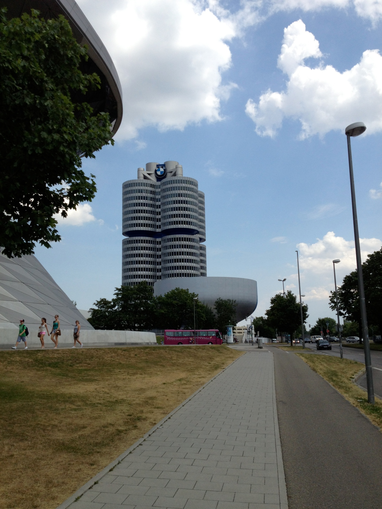 BMW world.