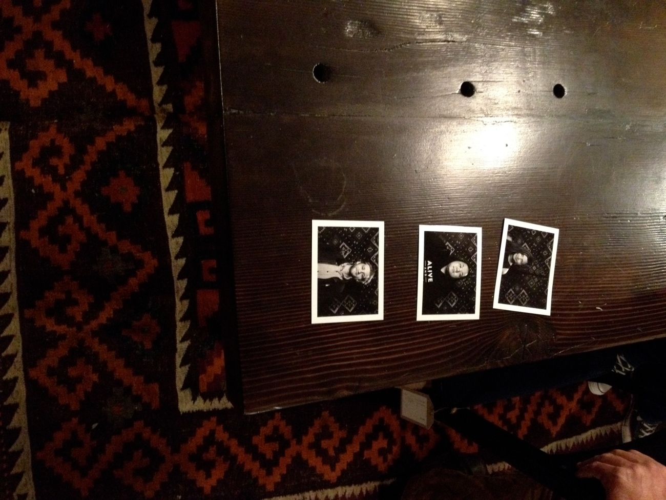 Black and White Poloroids
