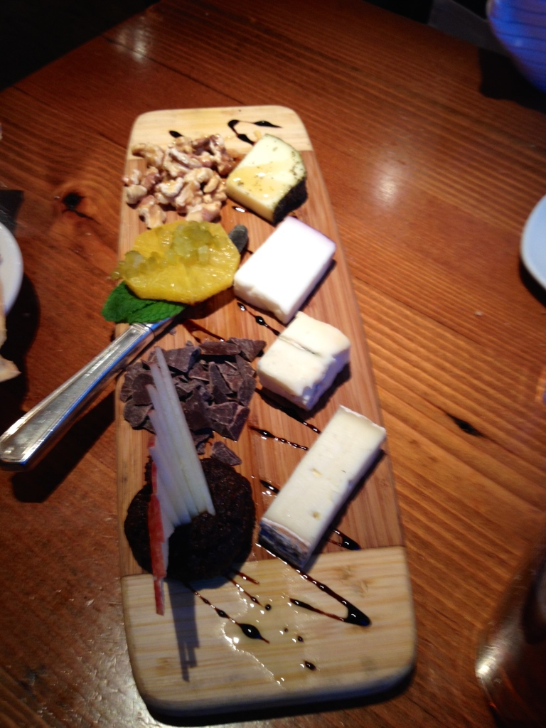 Deluxe cheese plate? Thank you very much.